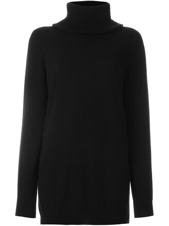 pullover women black sweater