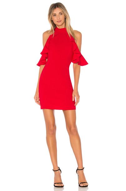 Amanda Uprichard Haven Dress in red