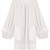 Selinda balloon-sleeve cotton nightdress