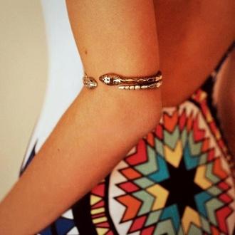 jewels arm cuff cuff jewelry snake