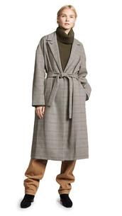 coat,plaid,black,cream