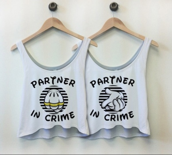 shirt disney partners in crime