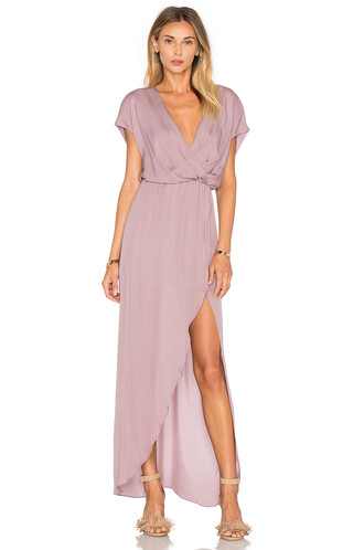 gown purple