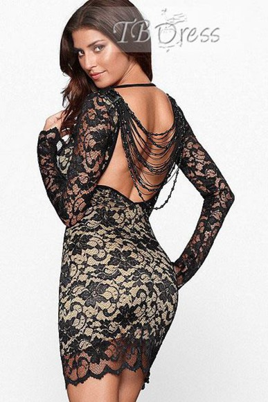 dress backless black black lace dress lace dress lace little black dress dresses backless dress