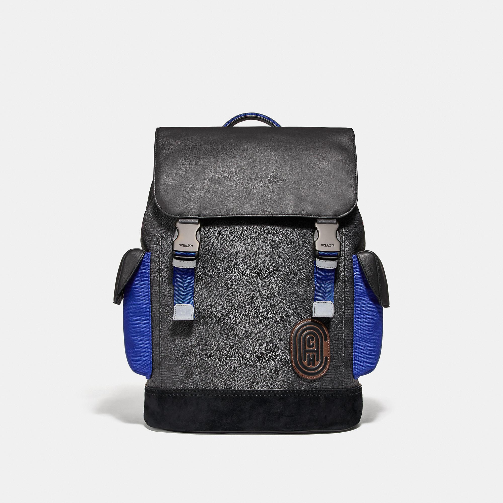 Rivington Backpack In Signature Canvas With Patch