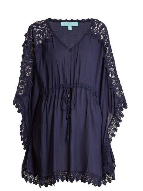 Melissa Odabash lace navy top
