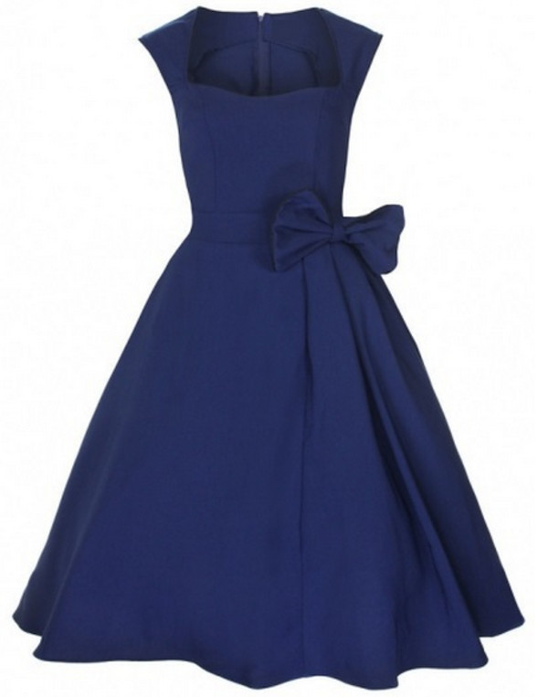 dress clothes blue dress cute dress elegant retro