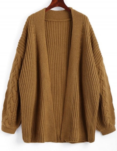 cardigan girly knitwear knit knitted cardigan long long cardigan