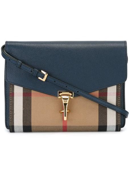 Burberry women bag crossbody bag blue