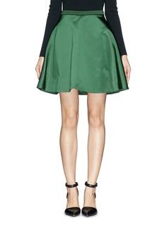 ACNE STUDIOS - 'Kanda Shine' flare taffeta skirt | Green Knee-Length Skirts | Womenswear | Lane Crawford - Shop Designer Brands Online