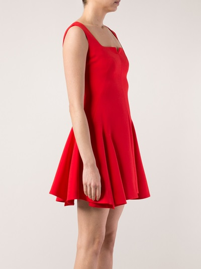 Alexander Mcqueen Mini Dress - Curve - Farfetch.com