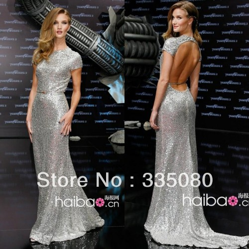 Aliexpress.com : Buy Wholesale Oscar Star Whiteley Silver Tank Sleeveless Transformers Dark of the Moon Premiere Celebrity Dress from Reliable dress with suppliers on Fashion Lady's Bridal