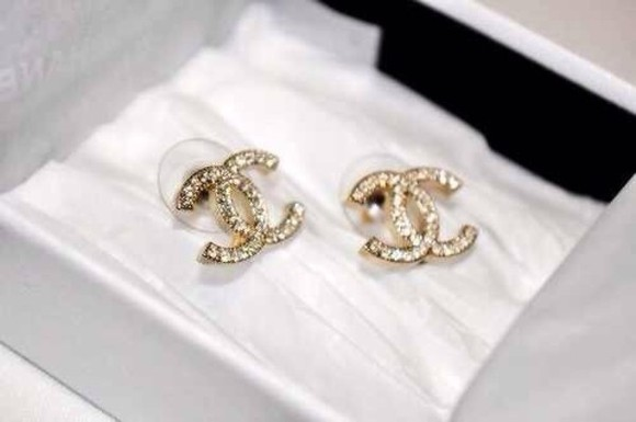 faux jewels chanel earrings