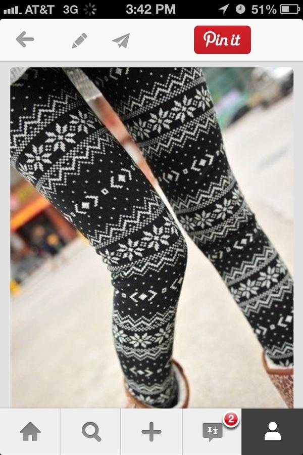 pants buy winter leggings aztec leggings
