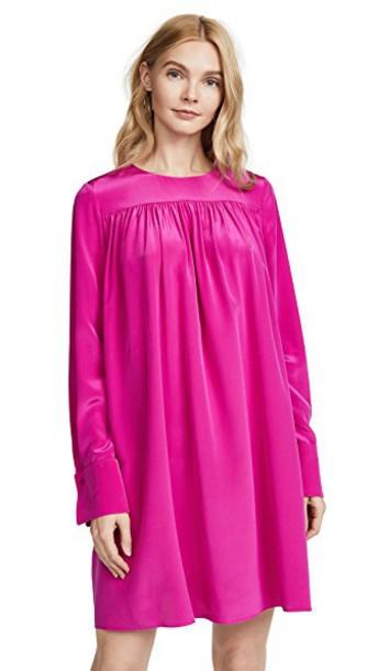 Diane Von Furstenberg dress pink