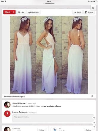 dress boho dress hippie dress tie dye dress prom dress