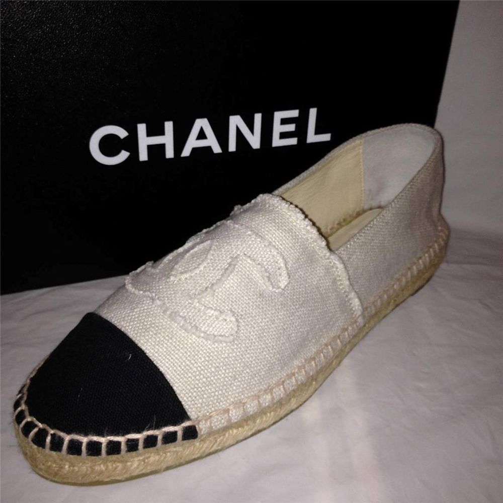 Chanel Flat Canvas Shoes