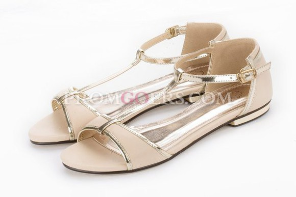 shoes flat sandals summer shoes t strap shoes promgoers.com