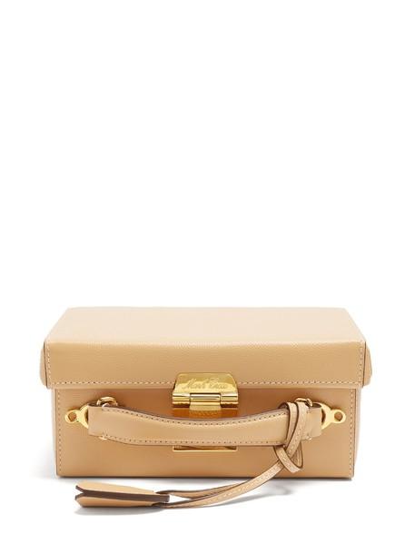 Mark Cross bag shoulder bag leather camel