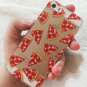 phone cover,pizza,iphone 5 case,food
