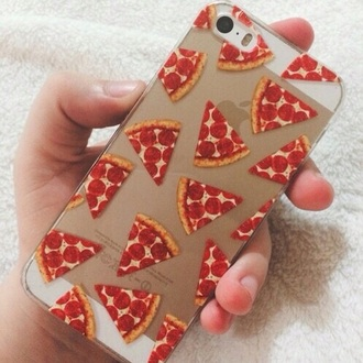 phone cover pizza iphone 5 case food