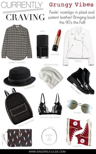 sincerely jules blogger nail polish make-up jacket hat sweater shoes