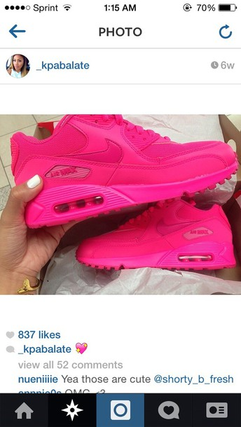 ea73f3d5ab45 shoes air max hot pink nike nike air max 1 hot pink nike air max 90
