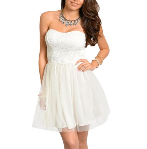 ivory ivory dress white dress tulle skirt tulle dress ivory tulle dress sweetheart dress sweetheart neck line dress sweetheart lace dress