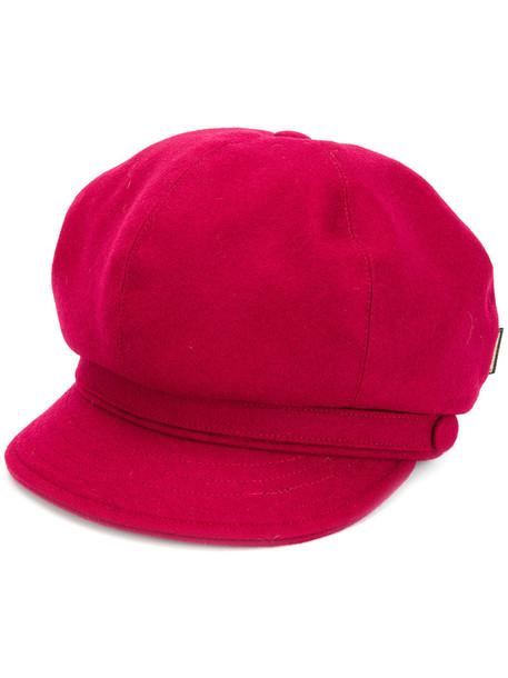 Borsalino women hat wool red