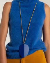 necklace,blue necklace,jewels