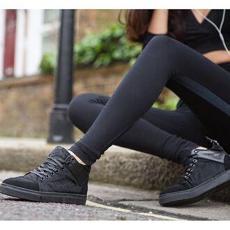shoes maniére de voir sneakers black women pony fur fashion style footwear trendy kylie jenner