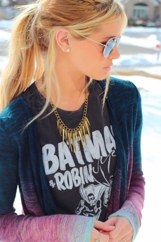 shirt love batman t-shirt jewels jacket