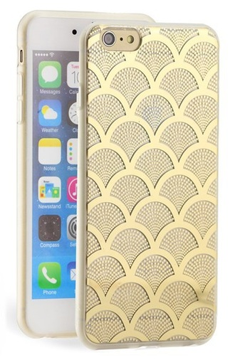 phone cover clear gold iphone 6 case