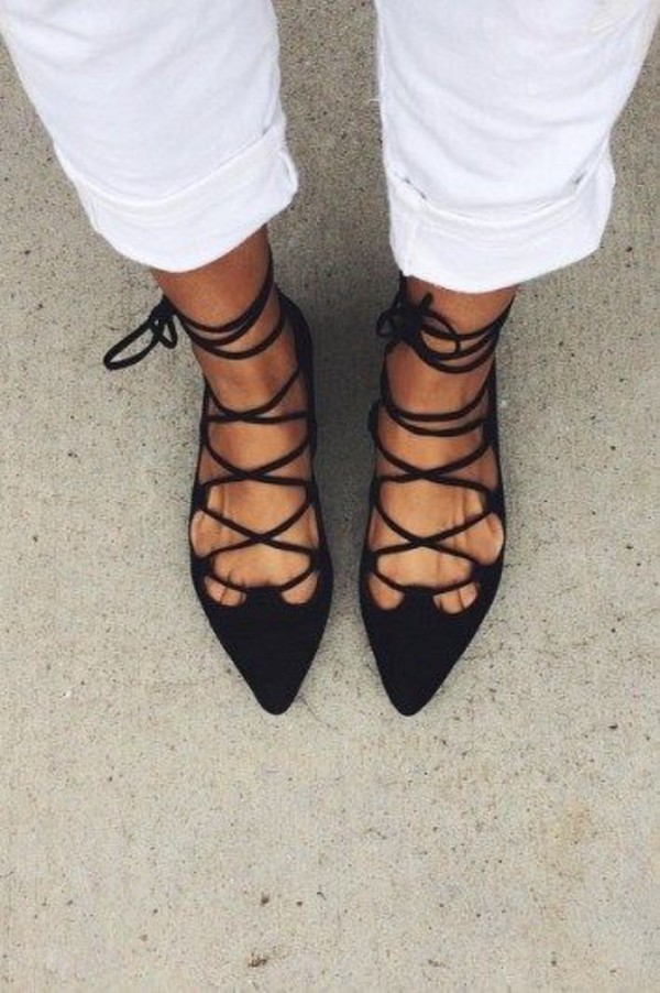 shoes lace up lace up flats strappy flats blue laced up flats strappy sandals strappy flats