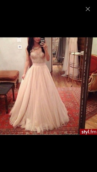 dress prom gown strapless princess long dress lace