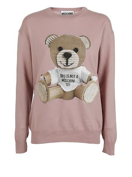 sweater bear pink