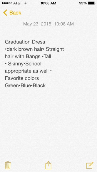 dress graduation dress formal dress style me