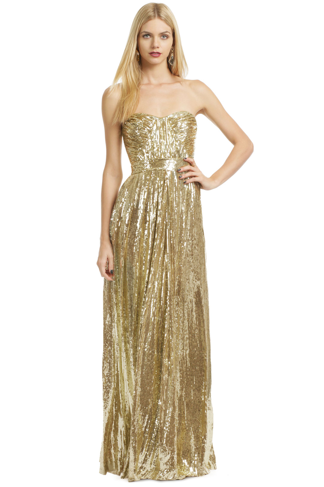 Screen Siren Gown by Badgley Mischka at $90 | Rent The Runway