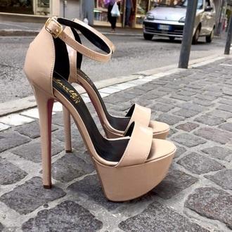 shoes nude platform shoes nude pumps