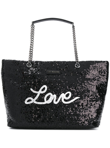 LOVE MOSCHINO women bag shoulder bag black