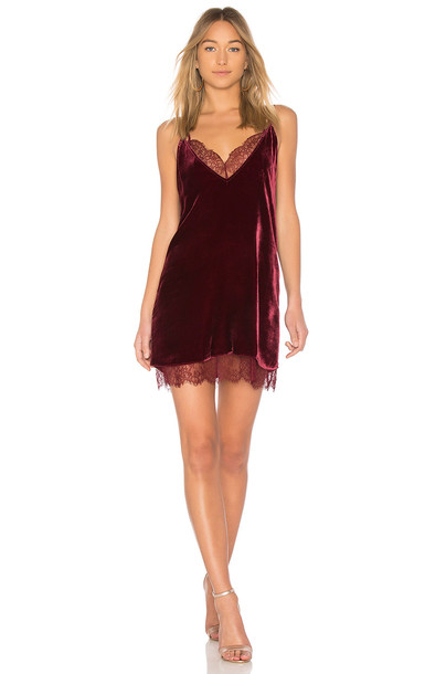 CAMI NYC dress burgundy