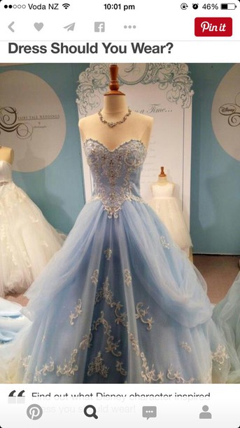 Ball Gown Birthday Dress