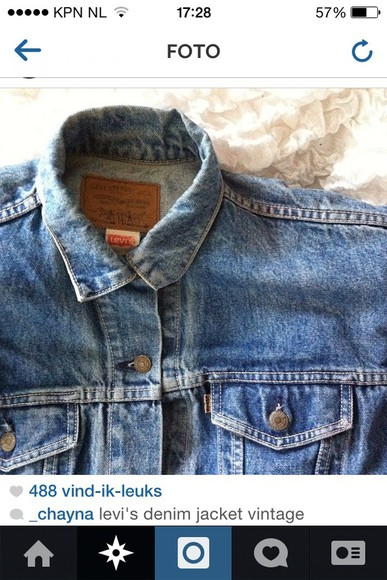 jacket vest denim denim jacket denim jacket vintage coat bleu spijker