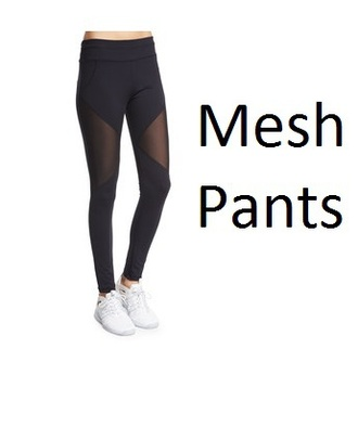 leggings mesh black leggings workout leggings