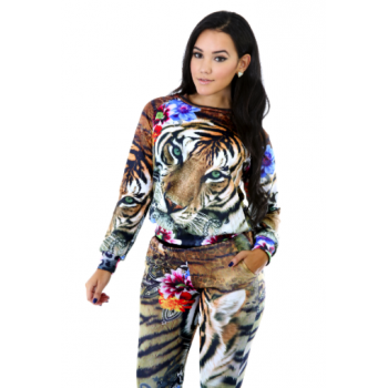 Long sleeve : tigress sweater