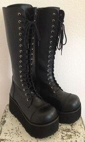 shoes,lace up,lace up boots,punk,rock,punk rock,style