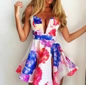 floral dress,www.ebonylace.net,ebonylacedesign,ebonylace,ebonylacefashion,dress,summer,floral,grace karin,gk dress,plunge v neck,spaghetti strap,skater dress,50s style,grace karin short dresses,summer dress,prom dress,evening dress,plunge dress,v neck dress,deep v dress,mini,v neck,zaful,cute dress,girl,girly,shopping,style,free shipping,white,blue,red,flower print spaghetti strap a-line dress,spring,cute,outfit,blue dress,red dress,pink dress,colorful dress,white dress,blonde hair,mini dress,short dress,flowered,gorgeous