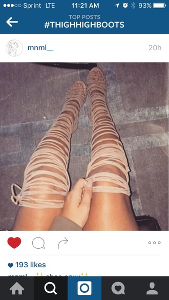 shoes thigh high boots nudes sexy