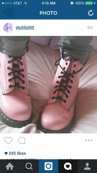 shoes drmartens pastel kawaii soft pink pastel pink