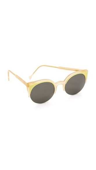 sunglasses grey lime